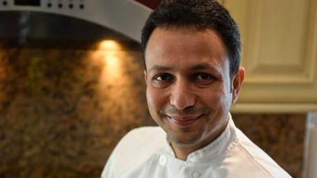 Sandeep Girhotra of Dix Hills with his chili