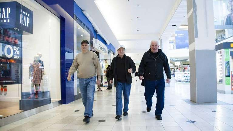 c97fad2102c Mall walkers stay on the fitness track at Long Island's shopping ...