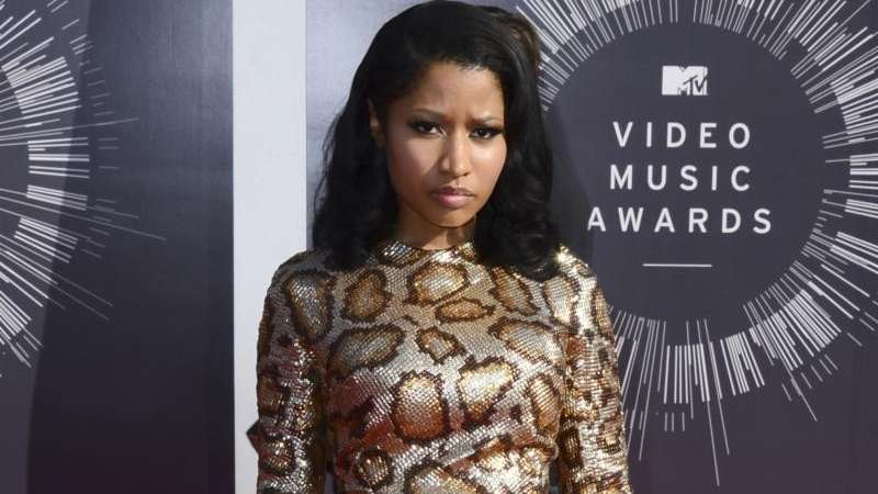 Nicki Minaj arrives at the MTV Video Music