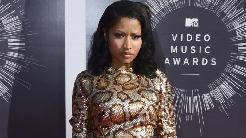 Nicki Minaj arrives at the MTV Video Music