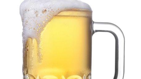 A mug of beer.