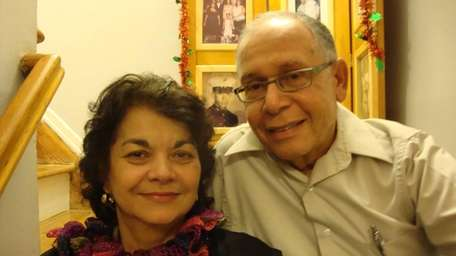 Oliva and Andy Colon of Bayside, Queens, in