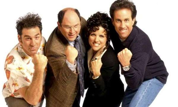 The cast of Seinfeld.