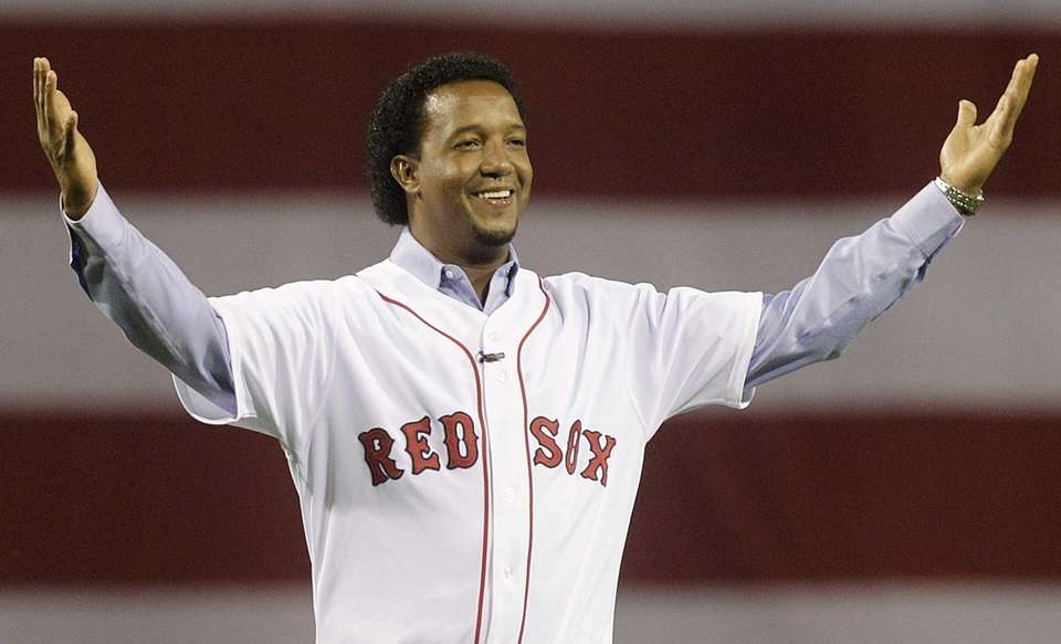 Pedro Martinez is a three-time Cy Young Award