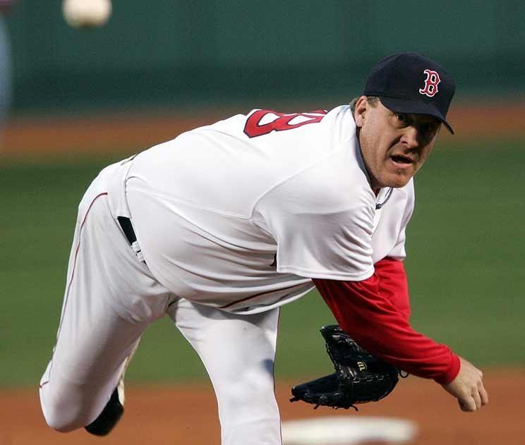 Curt Schilling was a three-time World Series champion,