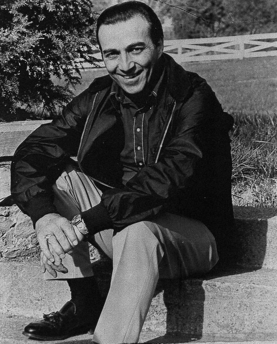 Country music singer Faron Young, shown in a