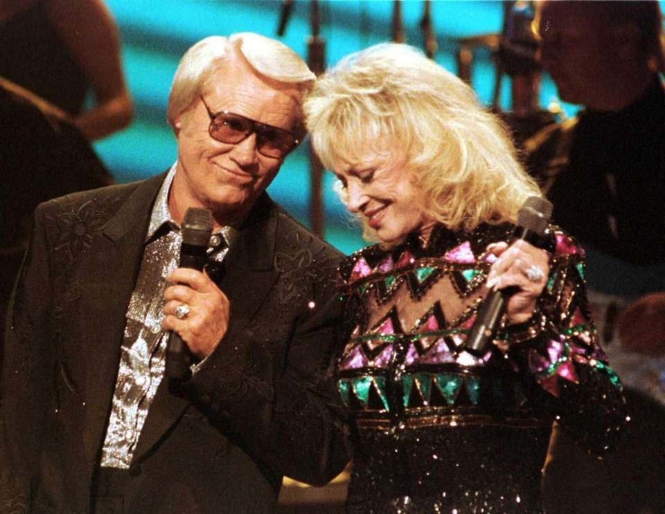 Tammy Wynette appears with duet partner and former