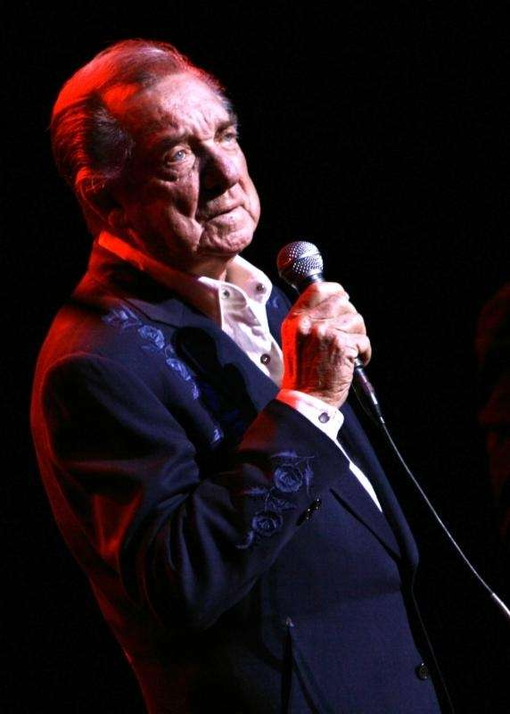 In this 2007 photo, Ray Price performs at