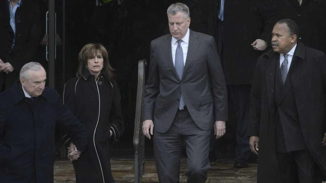 Police Commissioner William J. Bratton, his wife Rikki
