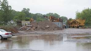 A dumping site at 175 Brook Ave, Deer