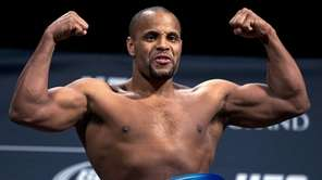 Daniel Cormier weighs in for a UFC 182