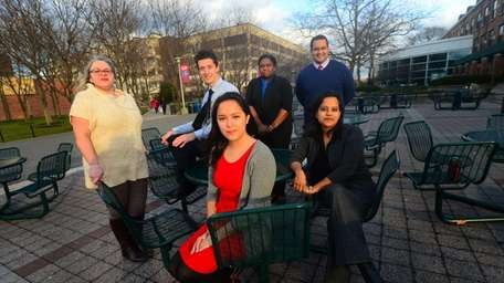 Members of the Stony Brook's Center for Prevention