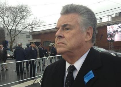 Rep. Peter King in Brooklyn on Jan. 4,
