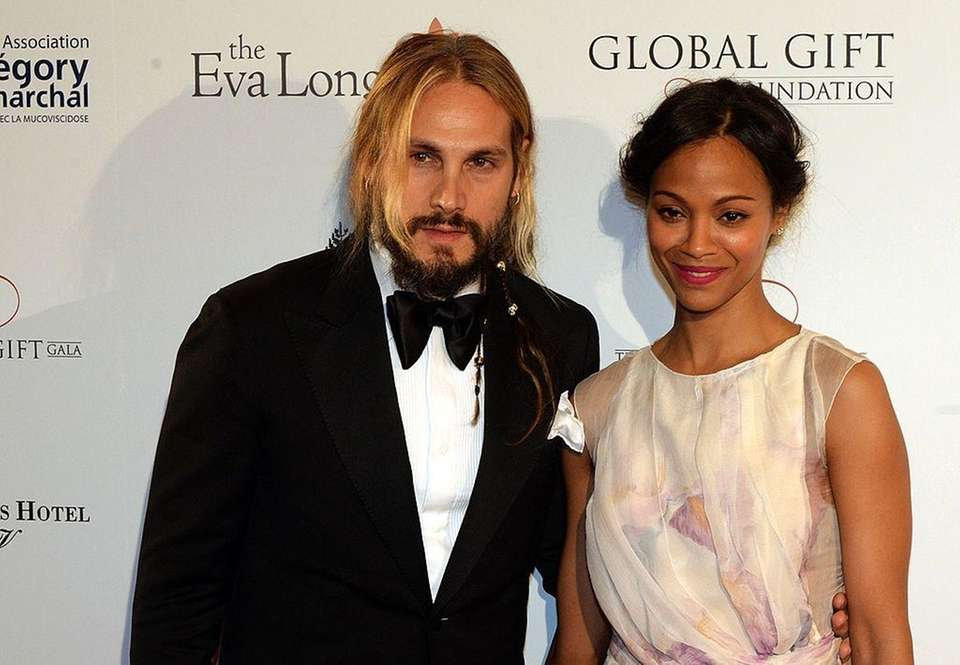Parents: Zoe Saldana and Marco Perego Children: Zen,