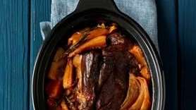 The slow cooker pot roast can be found