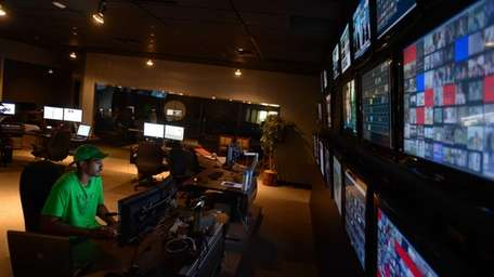 At the operations center of NeuLion, an online
