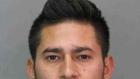 Wilson Reyes, 21, of Freeport, was arrested Tuesday,
