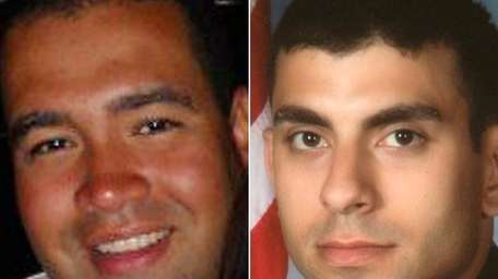 (L-R) Police identified the two officers, both from