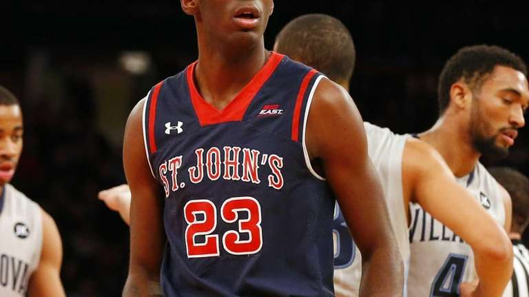 Rysheed Jordan of the St. John's Red Storm