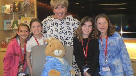 Kidsday reporters, Danielle Glucklich, Claire Schader, Sasha Rubin
