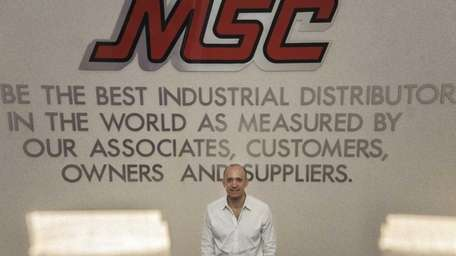 MSC Industrial Supply president and chief executive Erik