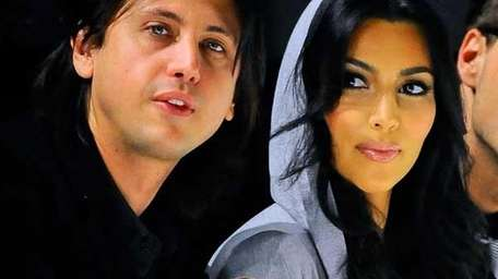 Jonathan Cheban and Kim Kardashian.