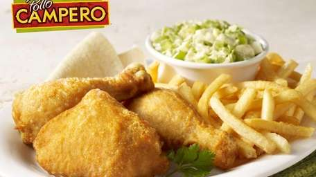Marinated fried chicken is the signature item at