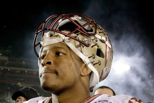 Quarterback Jameis Winston of the Florida State Seminoles