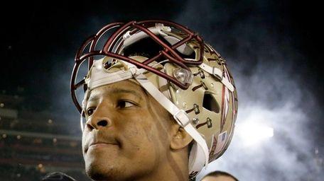 Quarterback Jameis Winston of the Florida State Seminoles