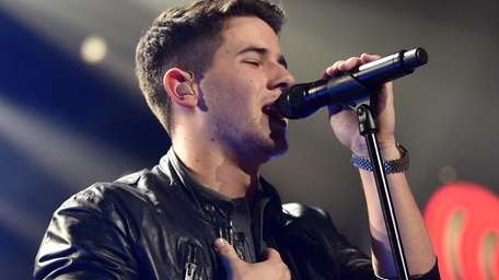 Nick Jonas performs at the KIIS FM's Jingle