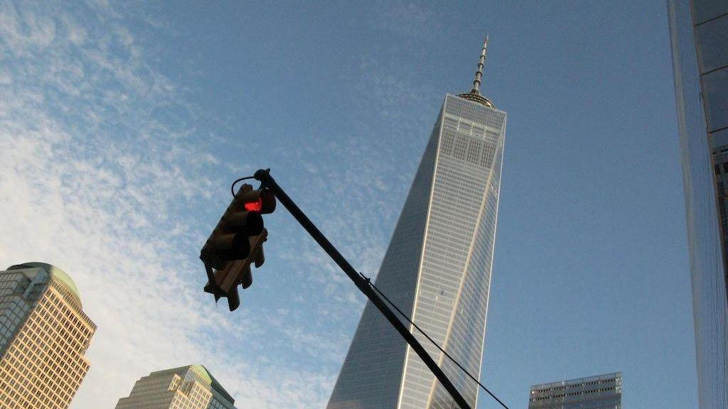 The lower Manhattan skyscraper, 1 World Trade Center