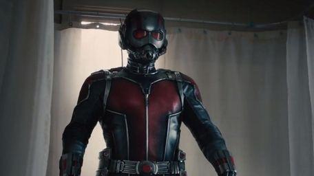 "Master thief Scott Lang (Paul Rudd) is ""Ant-Man."
