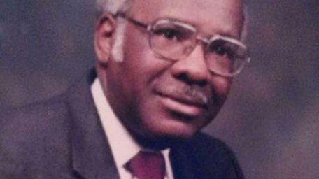 The Rev. Dr. H. David Parker, pastor of