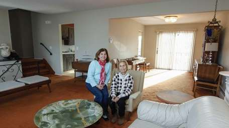 Elena Petrone and her mother Anna at the