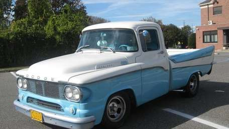 This custom 1958 Dodge D100 features grafted 1957