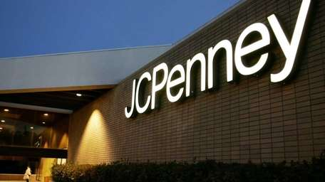 The exterior of a J.C. Penney Co. store