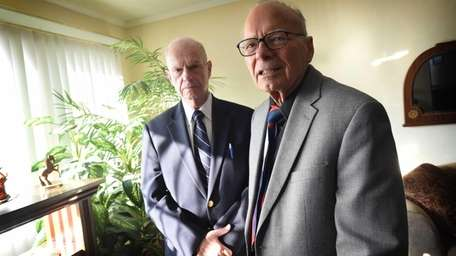 Barry Persky, 76, and Irving Gerber, 87, in