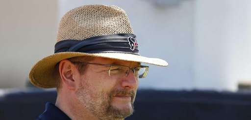 Houston Texans director of college scouting Mike Maccagnan