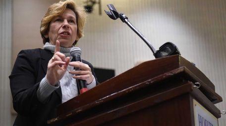 American Federation of Teachers President Randi Weingarten speaks