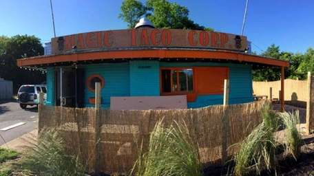 Magic Taco Corp. on Sunrise Highway in Islip