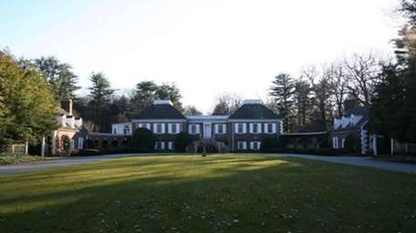 The nearly 100-acre Easton Estate in Muttontown has