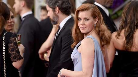 Amy Adams attends the 72nd Annual Golden Globe