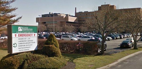 Good Samaritan Hospital Medical Center is shown in