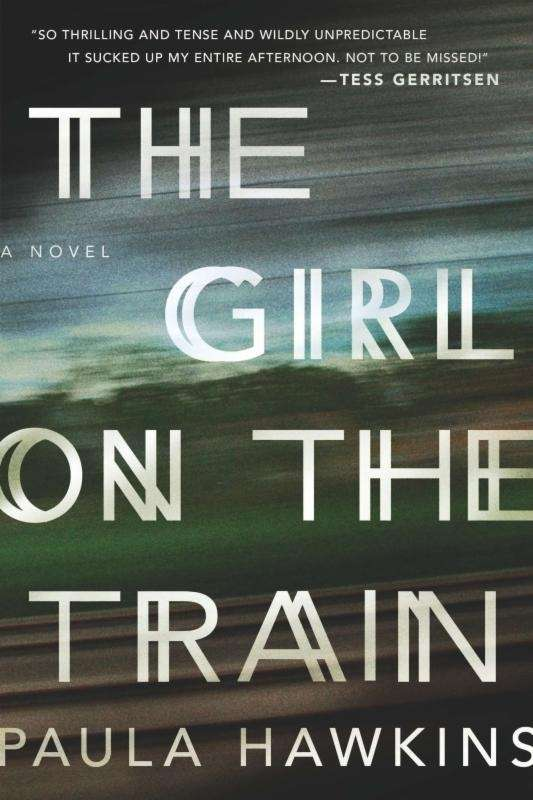 Paula Hawkins' novel about a drunken woman who