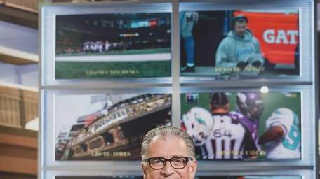 Fox NFL rules analyst Mike Pereira is in
