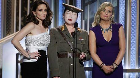 Tina Fey, Margaret Cho and Amy Poehler speak