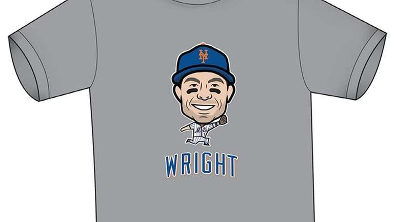 David Wright Mets T-shirt design.