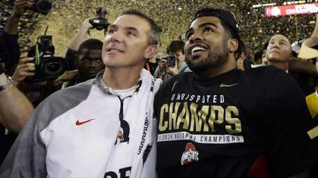 Ohio State head coach Urban Meyer and Cardale