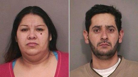 Doris Castro, 37, and her husband Elmir Guerra