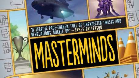 The cover of Masterminds, a new book for